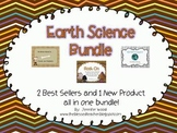 Earth Science Bundle: Fossils, Earth's Layers, and Rocks!