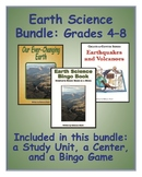 Earth Science Bundle for Middle-Grade Science Classes