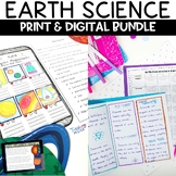 Earth Science Bundle of Nonfiction Worksheets Hands on and STEM Activities