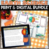 Earth Science Bundle of Nonfiction Worksheets Hands on STEM Activities
