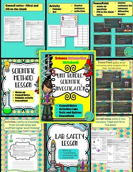 Earth Science COMPLETE Interactive Notebook Unit Plan