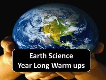 Earth Science Milestone Year long Warmups