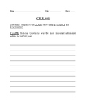 Earth Science Claim Evidence Reasoning Practice