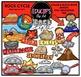 Earth Science-Rocks & Fossils Clip Art Big Bundle  {Educli