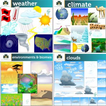 Earth Science Clip Art Mega Bundle