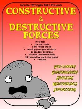 Earth Science: Constructive & Destructive Forces