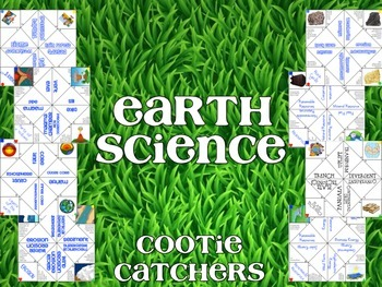 Earth Science Cootie Catchers