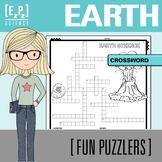 Earth Science Crossword Science Fun Puzzler