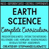 NGSS Earth Science Curriculum - Printable, Digital & Edita
