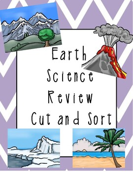 Earth Science Cut and Sort