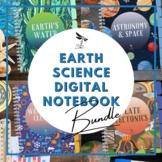 Earth Science DIGITAL NOTEBOOK BUNDLE - Google Classroom D