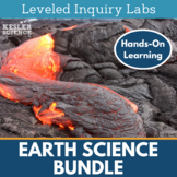 Earth Science Differentiated Inquiry Labs Bundle