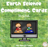 Earth Science Digital Compliment Cards