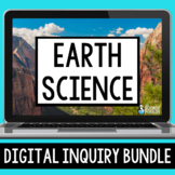 Earth Science Digital Inquiry Bundle | Distance Learning |