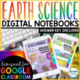 Earth Science Digital Interactive Notebooks | Distance Lea