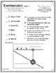Earth Science EARTHQUAKES 1 Vocabulary Mini-bundle