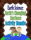 Earth Science: Rocks, Minerals, Weathering & Erosion Activities Bundle