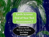 Earth Science End of Year Test Assessment 2