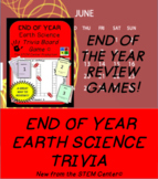 Earth Science End of the Year Science