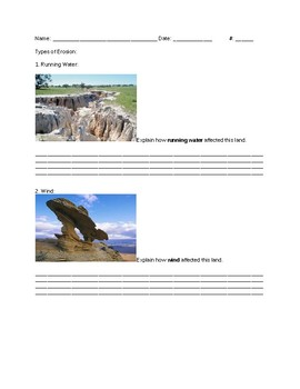 Earth Science-Erosion-CA NGSS