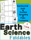 Earth Science Foldables: Continental Drift, Seafloor Sprea