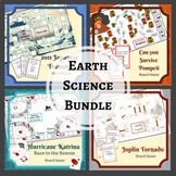 Earth Science Game Bundle: Volcanoes, Hurricanes, Tornadoe
