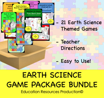 Earth Science Game Bundle