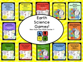 Earth Science Games