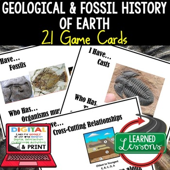 Earth Science Geological History of Earth Fossils I Have W