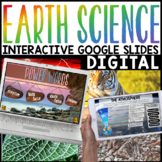 Earth Science Google Slides Interactive | Distance Learnin