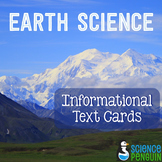 Earth Science Informational Text Cards