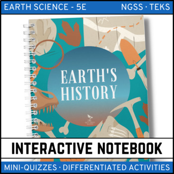 A Trip Through Earth's History: Earth Science Interactive Notebook