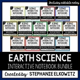 Earth Science Interactive Notebook Bundle