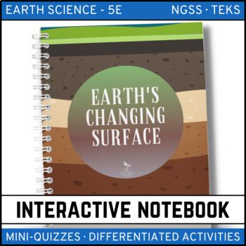 Earth's Changing Surface: Earth Science Interactive Notebook