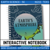 Earth's Atmosphere: Earth Science Interactive Notebook