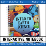 Intro to Earth Science: Earth Science Interactive Notebook - Distance Learning