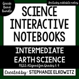 Intermediate Earth Science Interactive Notebook