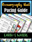 Earth Science Interactive Notebook: Oceanography Pacing Guide