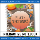 Plate Tectonics: Earth Science Interactive Notebook - Distance Learning