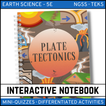 Plate Tectonics Interactive Notebook - Distance Learning