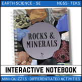Rocks and Minerals: Earth Science Interactive Notebook - Distance Learning