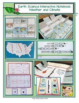 Weather and Climate Earth Science Interactive Notebook
