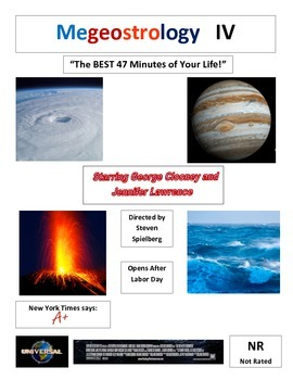 Earth Science Introduction and Movie Poster Construction