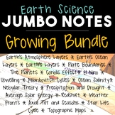 Earth Science JUMBO Notes GROWING BUNDLE!