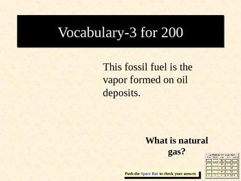 Earth Science Jeopardy 3