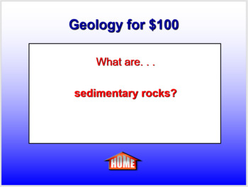 Earth Science Jeopardy PowerPoint Game - EDITABLE