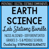 Earth Science Lab Stations Bundle