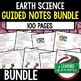 Earth Science Landforms and Waterways  Guided Notes