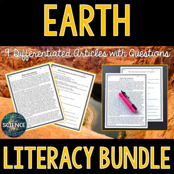 Earth Science Literacy Bundle