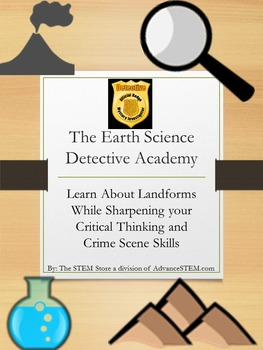 Earth Science Made Fun: A CSI Unit For Learning Landforms: